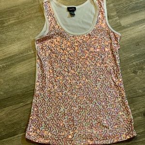 Rue 21 tank top with sequins